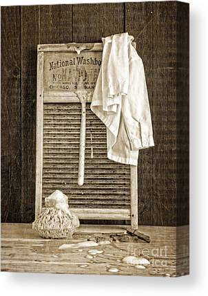 Vintage Clothes Canvas Prints