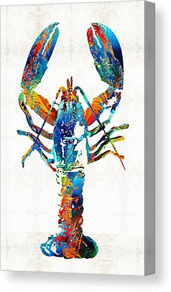 Claw Paintings Canvas Prints