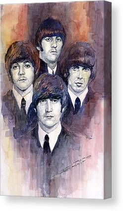 The Beatles George Harrison Canvas Prints