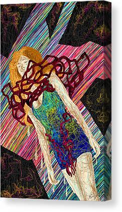 Fashion Abstraction De Dan Richters Canvas Prints