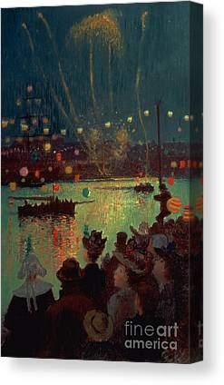 Chinese Fireworks Canvas Prints
