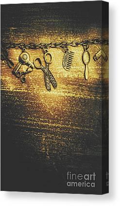 Chain Link Photographs Canvas Prints