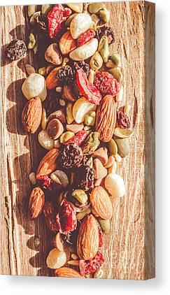 Dried Fruit Canvas Prints