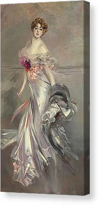 White Lilacs Canvas Prints