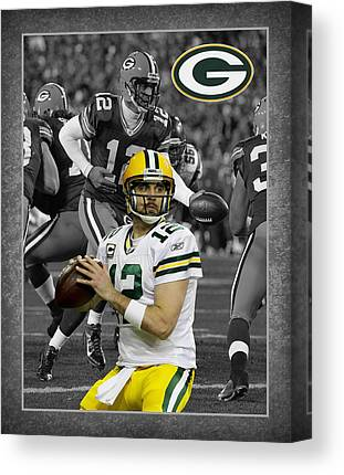 Green Bay Packers Canvas Prints