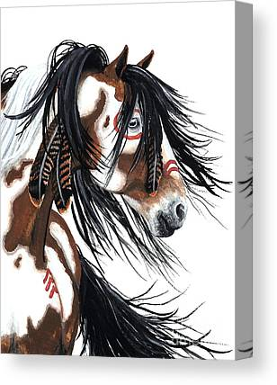 Horse Artwork Canvas Prints