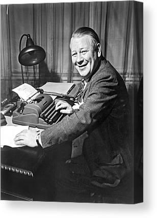 Underwood Typewriter Canvas Prints