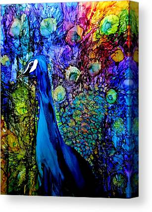Alcohol Ink Paintings Canvas Prints