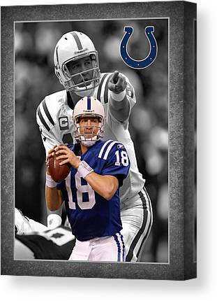 Indianapolis Colts Canvas Prints