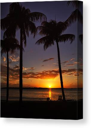 Southwest Florida Sunset Canvas Prints