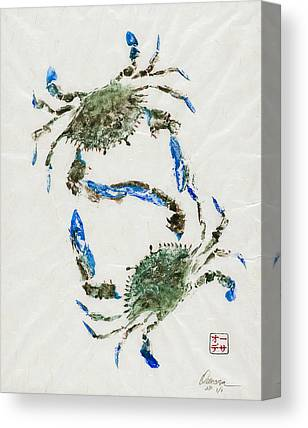 Gyotaku Canvas Prints