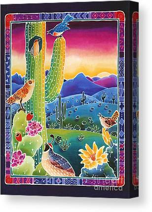 Cactus Wren Canvas Prints