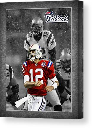 Tom Brady Canvas Prints