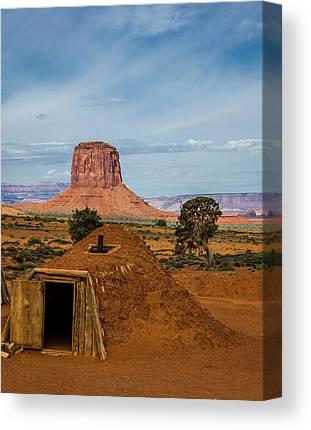 Mitchell Butte Canvas Prints