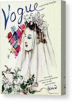 Wedding Bouquet Photographs Canvas Prints