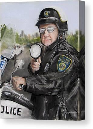Policework Canvas Prints