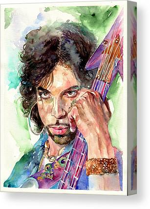 Prince Rogers Nelson Canvas Prints