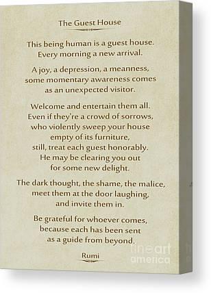 Rumi Canvas Prints