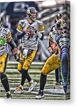 Ben Roethlisberger Canvas Prints