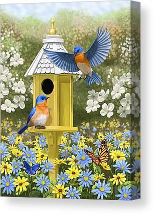 Butterfly In Flight Canvas Prints