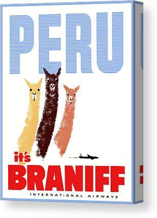 Peru Canvas Prints