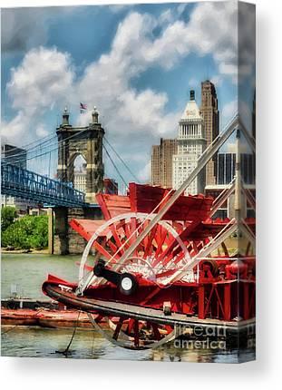 Riverboats Canvas Prints