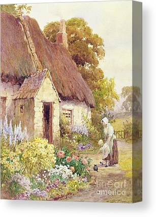 Foxglove Flowers Canvas Prints