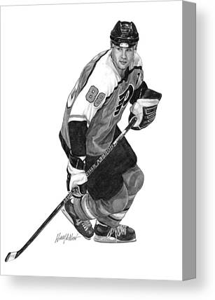 Eric Lindros Canvas Prints