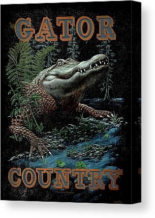 Gator Canvas Prints