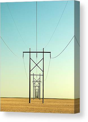 Vertical Line Canvas Prints