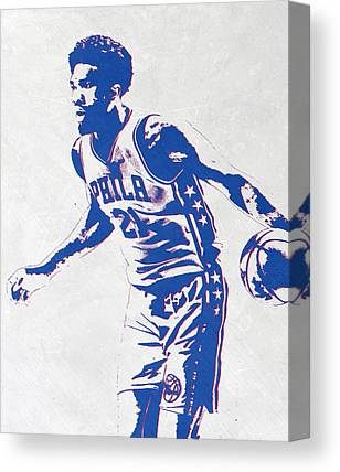 Philadelphia Sixers Canvas Prints