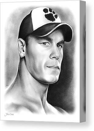 Wrestling Canvas Prints