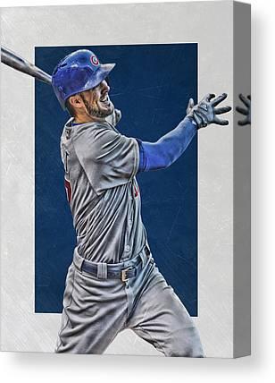 Baseball Fields Mixed Media Canvas Prints