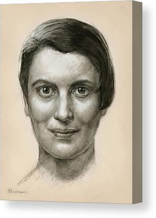 Ayn Rand Canvas Prints