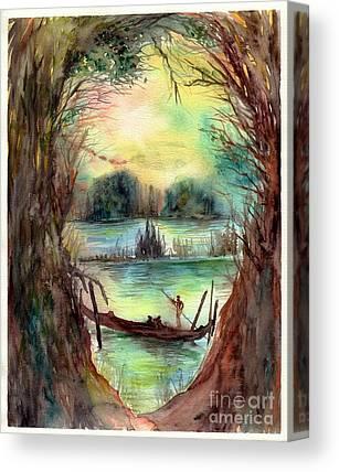Paysage Canvas Prints