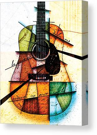 Spanish Guitar Canvas Prints