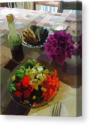 Salad Dressing Canvas Prints