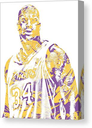 Shaquille Oneal Canvas Prints