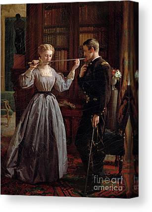 Historical Clothing Canvas Prints