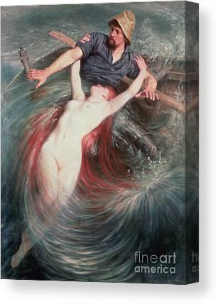 Undertow Paintings Canvas Prints