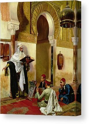 Orientalists Photographs Canvas Prints