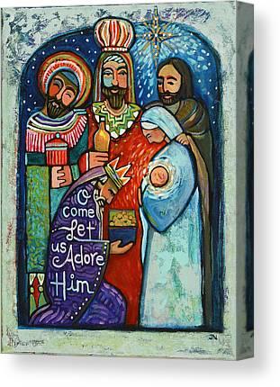 Star Of Bethlehem Canvas Prints