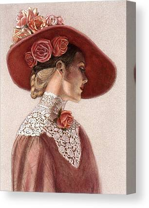 Hat Paintings Canvas Prints