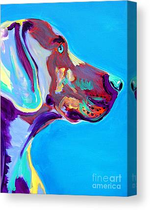 Dog Canvas Prints