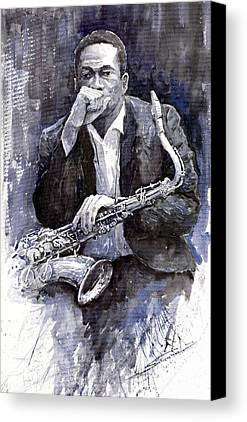 Jazz Canvas Prints