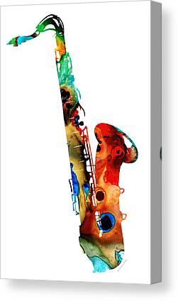 Jazz Band Canvas Prints