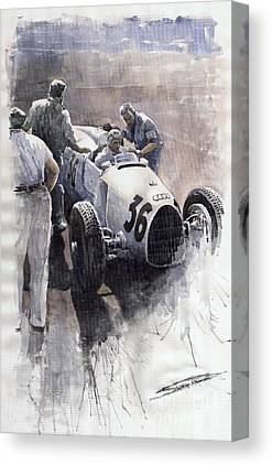Sports Car Canvas Prints