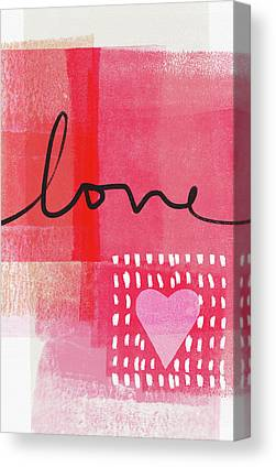 I Heart Canvas Prints