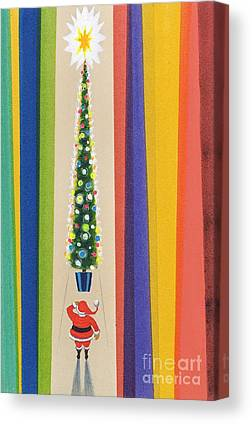 Christmas Bauble Canvas Prints