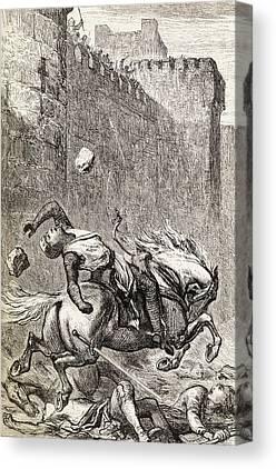 Simon De Montfort Canvas Prints
